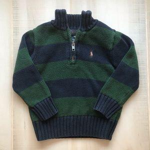 Polo Ralph Lauren Boys Striped Pullover Sweater 2T